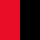 negro y rojo