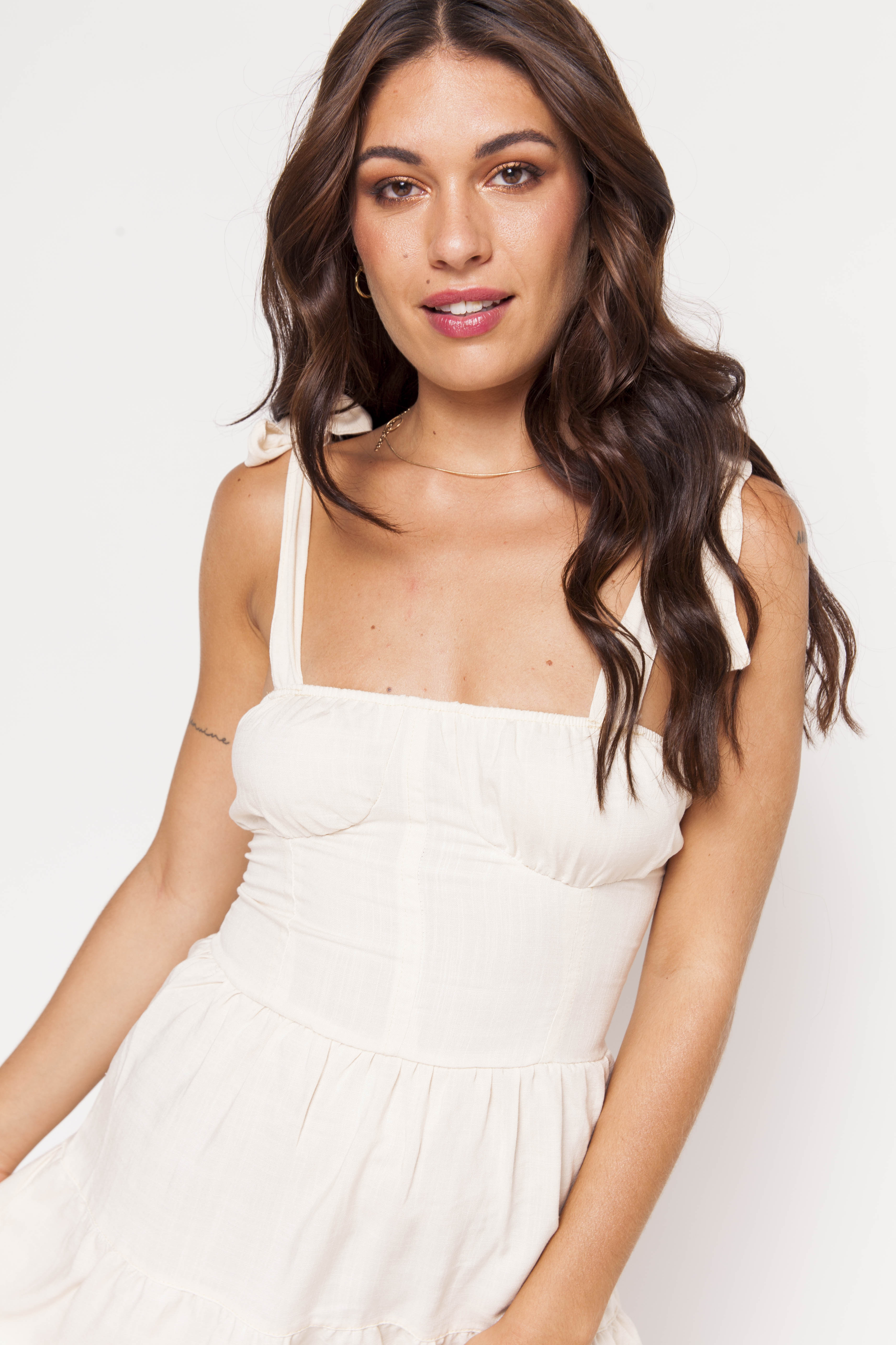 Vestido SARA lino