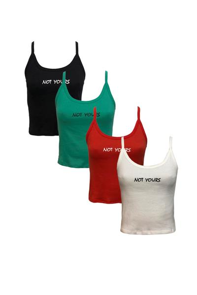 Musculosa NOT YOURS