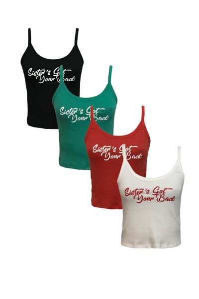 Musculosa  SISTER´S GOT YOUR BACK
