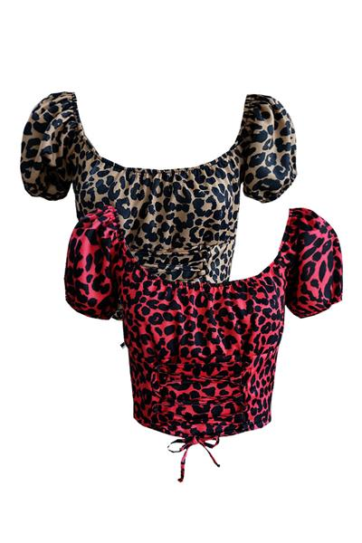 TOP LUCY LEOPARD